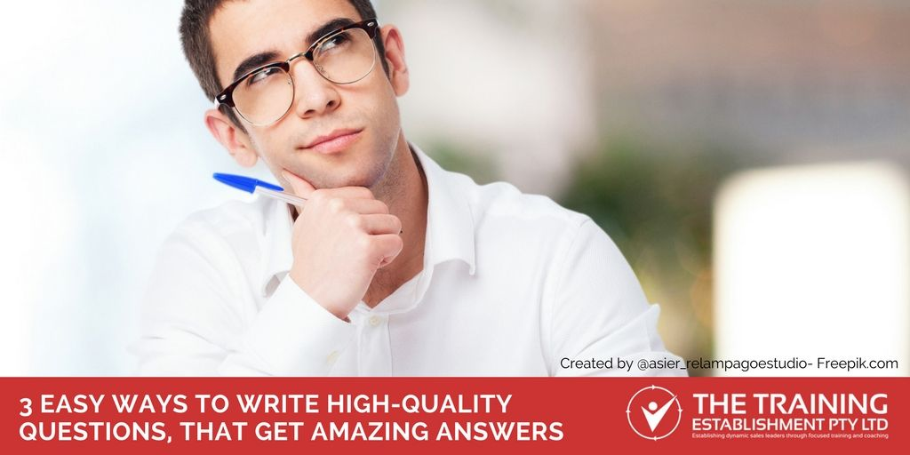3 easy ways to write high-quality questions, that get amazing answers