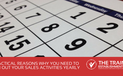 5 practical reasons why you need to plan out your sales activities yearly