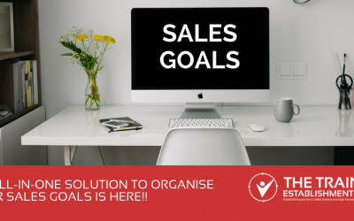 An all-in-one solution to organise your sales goals is here!