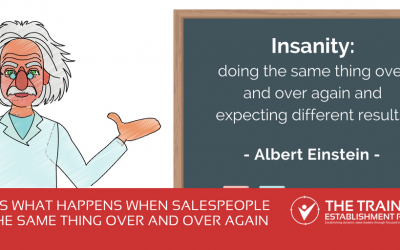 Crazy Rant: This is what happens when salespeople do the same thing over and over again