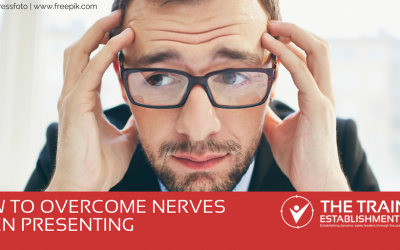 How to overcome nerves when presenting