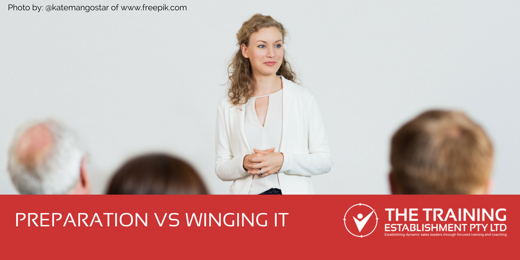 Preparation vs Winging It
