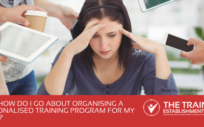 #AskBec: How do I go about organising a personalised training programme for my team?
